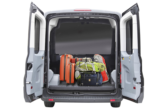 Ford Transit Luxury Van With Luggage
