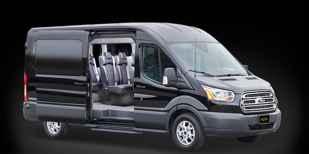 Ford Transit Wagon >> Transit Luxury Van | Royale
