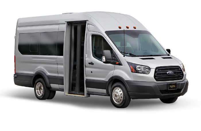 Ford Transit Wagon >> Royale Limousine | Ford Transit Vans | a Cabot Coach Builders Company